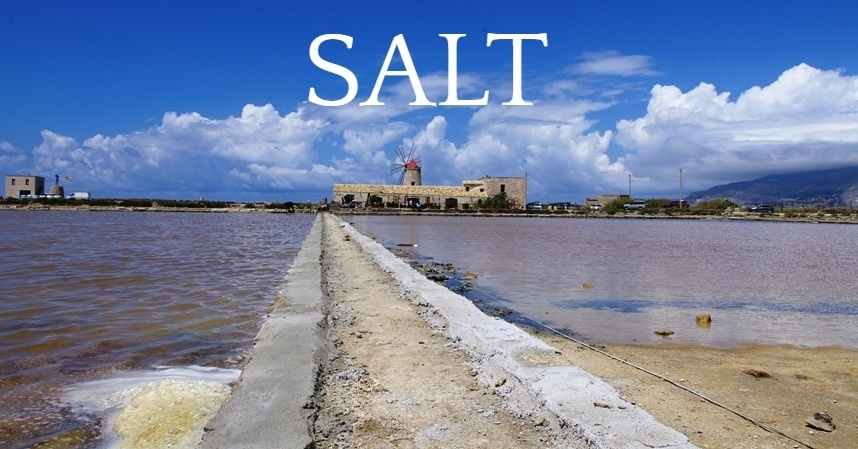 salt flats of trapani